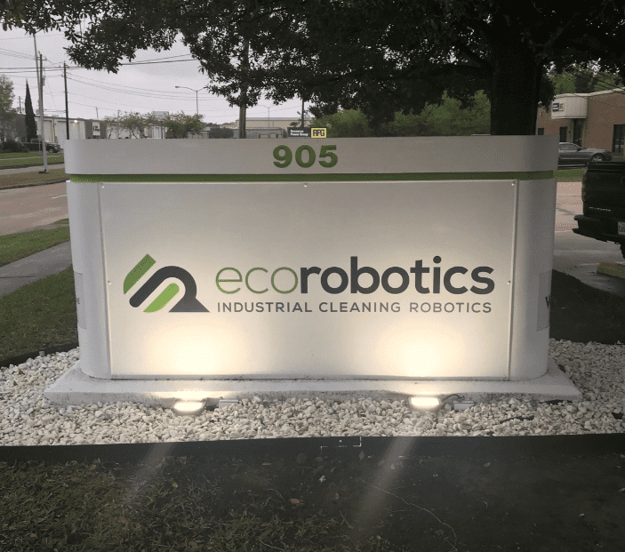 ecorobotics sign