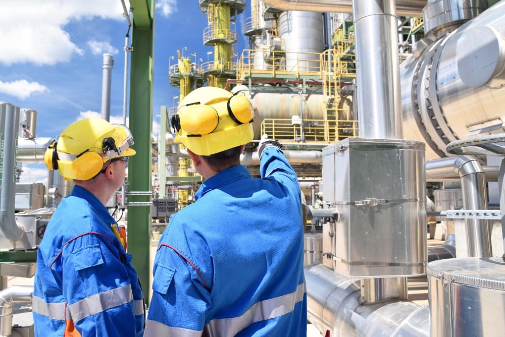 robots in chemical plants